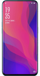 Oppo Find X 128GB Bordeaux Red Contract Phone