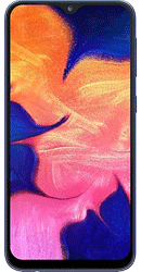 Samsung Galaxy A10 32GB Blue Contract Phone