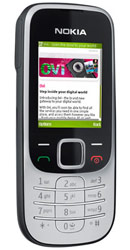 Nokia 2330 Silver Pay As You Go Phone