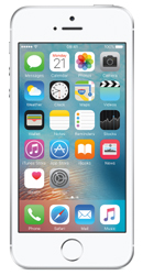 Apple iPhone SE 16GB Silver Contract Phone